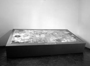 2002 verschiedene Materialien 100 x 370 x 170 cm