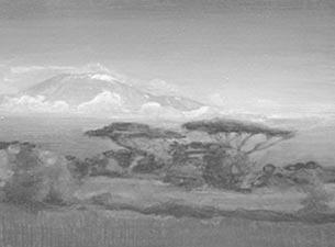 2012 Öl auf MDF, Kupfer 13 x 35 cm